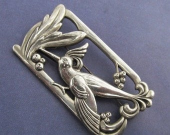 On Sale Antique Norseland By Coro Sterling Bird Brooch After Jensen