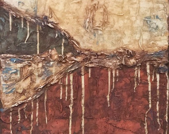 """36x24x1.5"""" Already Made Textured Original Abstract Painting"""
