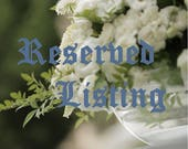 Reserved Listing for Yishay