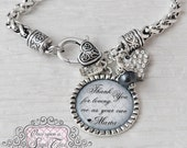 Step Mother of the Bride Gift, Personalized Wedding Bracelet, Wedding Gift from Bride, Message, Step Mom Wedding Gift, Name and Date Jewelry