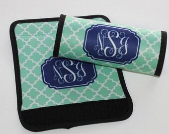 Monogram Luggage Finder - Monogram Luggage Handle Wrap - Personalized Luggage Wrap - Monogram Gift Graduation Gift