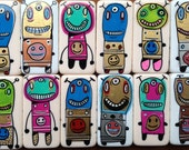 3 Lovebots and 12 Joybots