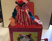 Matty Mattel Presents Jack in the Box 1961 Stock No. 659 Beautiful Condition