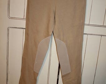 Equestrian Riding pants 26 XS Vintage cotton stretch