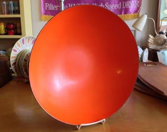 """Extra Large 15"""" Krenit Bowl Orange Interior"""