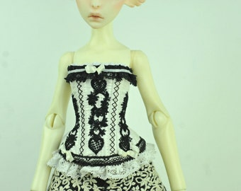 Dreams of Dawn BJD Art Line Corset for Cerisedolls Classic MSD