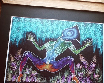 NAMMU Tribal Art Print