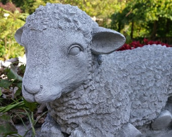 Concrete Lamb or Sheep