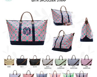 Monogram Weekend Tote / overnight bag / travel bag