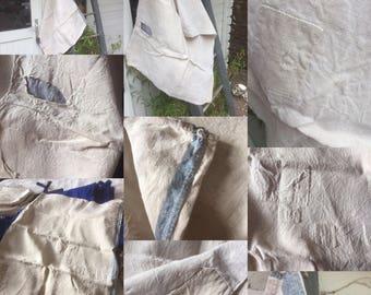 Antique French Linen sack much treasured