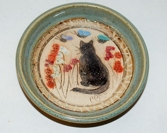 Cat Coaster Etsy