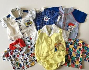 Vintage Baby Boy Lot (6/9 months)