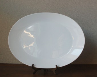 Vintage Rosenthal Continental Classic modern white porcelain modern  large serving platter