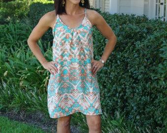 50% OFF Womens Swing Dress sewing PDF pattern, dress womens sewing pattern, womens dress pattern, dress pdf sewing pattern for women