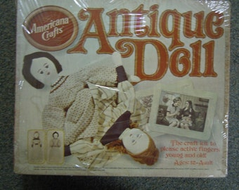 Vintage doll making kit Topsy - Turvey from Hasbro 1974 factory sealed  made in USA