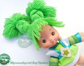 Vintage Patty O'Green Doll by Mattel 1980s from Rainbow Brite Line