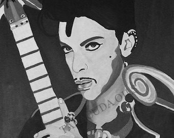 PRINCE Hand Painted Oil Painting 16 x 20