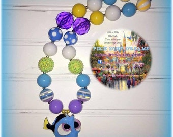 Darling RTS Baby Dory 19' necklace!!