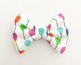The Balloons Handmade Bow (Handmade Bow / Bow Tie / or Headband)