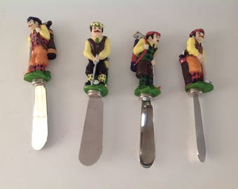 Golf Theme Cheese Spreaders