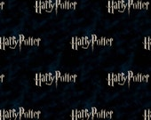 Harry Potter - Title Black  from Camelot Cottons