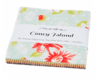 Coney Island Charm Pack - 42 Five Inch Squares by Fig Tree Quilts from Moda