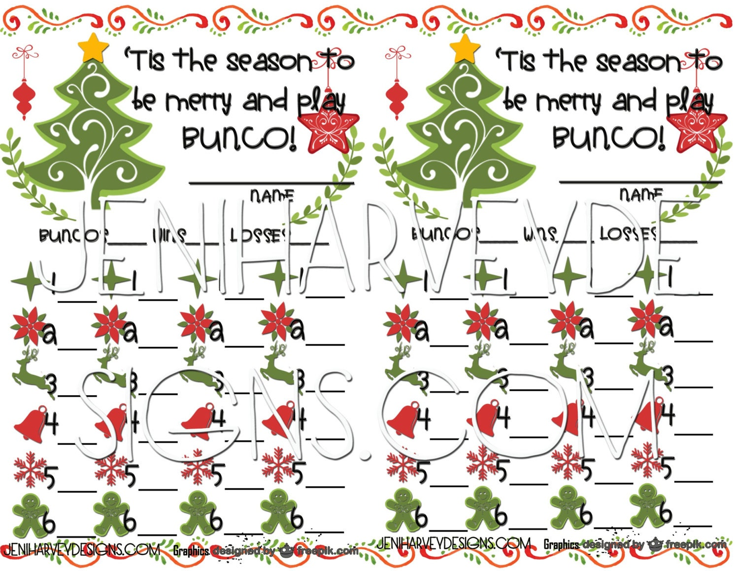 christmas cards list templates