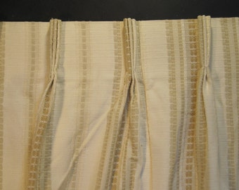 Pinch Pleat Curtains Etsy