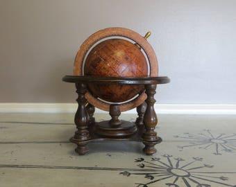 Vintage Terrestrial Globe Reproduction Globe  Old World Globe Zodiac Globe