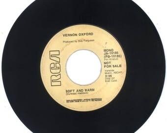 VERNON OXFORD 45 RPM Soft And Warm