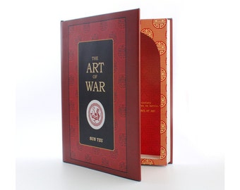 XL - Art of War - Book Safe Secret Storage Hollow Book