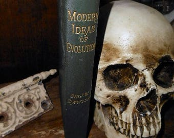 1900 Modern Ideas of Evolution Sir J. William Dawson Victorian Creationism Religious History
