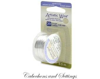6 Yards (5.48 Metres) ARTISTIC WIRE 20S Guage Tarnish-Resistant Silver Hypo-Allergenic - Ships from  AUSTRALIA