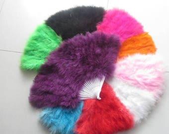 80*45cm Large   Burlesque Dance  feather fan Bridal Bouquet Purple Green Hot Pink White Black Turquoise Orange Pink