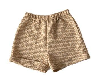 Vintage 60s Mod Gogo High Waist Shorts