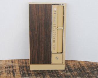 Vintage Park Sherman Telephone Index Flip Top Organizer