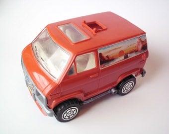 Vintage Ideal Toys Custom Van, 1977, Made in Macao