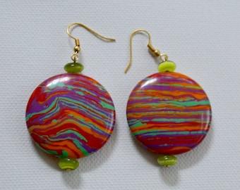 Paint Chips Earrings