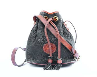 Mini Dooney & Bourke Drawstring Bucket Bag