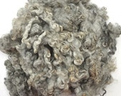 RESERVED for Sarah - Gotland Wool Locks - Natural Gray - 6 ounces