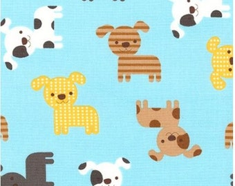Yellow & Brown Puppies (Park) from Robert Kaufman's Urban Zoologie Collection by Ann Kelle