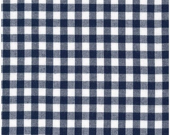 Navy Blue 1/4 Inch Gingham from Robert Kaufman's Carolina Gingham Collection