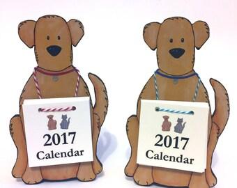 SALE!!!  2017 Calendar Dog