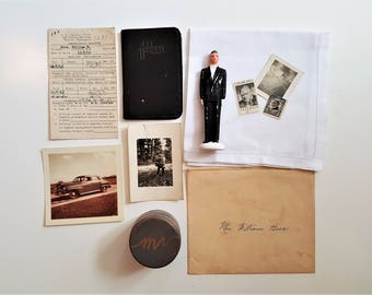 Vintage Photo Styling Prop Kit. Black and White.  Photo Styling.  Stock Photography.  Vintage Photo Props.  Photography Prop.