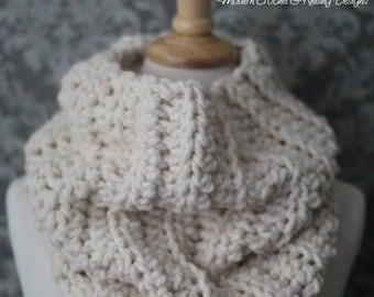 Crochet Pattern - Crochet Cowl Pattern - Crochet Infinity Scarf Pattern - Crochet Scarf Pattern - Easy Crochet Pattern - PDF 443