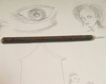 Handmade Silverpoint drawing pencil