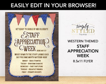employee appreciation flyers
