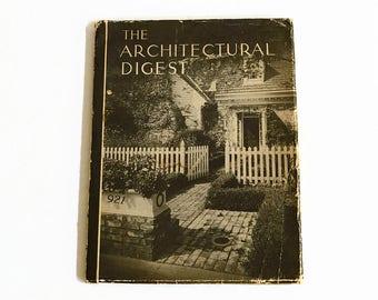 vintage Architectural Digest magazine AD 1940s interior design VOL 11 No 3 back issue