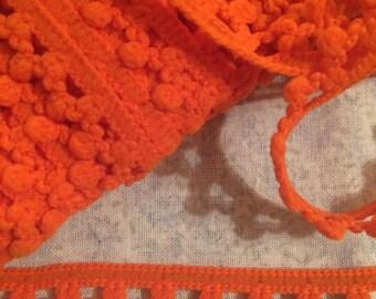 Soft Orange Trim x three metres