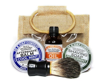 deluxe beard care beard set gifts for him gift by drksoapcompany. Black Bedroom Furniture Sets. Home Design Ideas